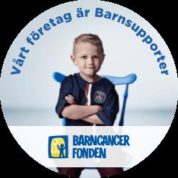 barnsupporter för barncancerfonden